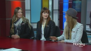 Sitting down with the Dufour-Lapointe sisters